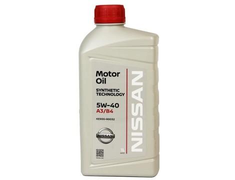 МОТОРНОЕ МАСЛО NISSAN MOTOR OIL SAE 5W-40 1L
