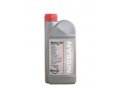 МОТОРНОЕ МАСЛО NISSAN MOTOR OIL SAE 5W-30 DPF  1L