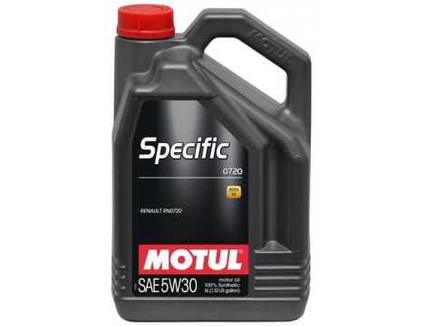 Масло моторное Motul SPECIFIC 0720 SAE 5W30 (5L)