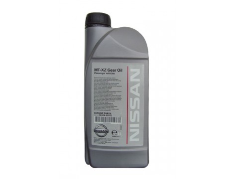 ТРАНСМИССИОННОЕ МАСЛО NISSAN MT XZ GEAR OIL SAE 75W-80 GL-4+