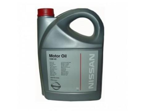 МОТОРНОЕ МАСЛО NISSAN MOTOR OIL SAE 10W-40 5L