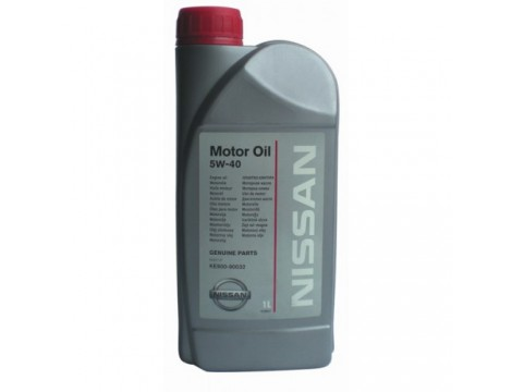 МОТОРНОЕ МАСЛО NISSAN MOTOR OIL SAE 5W-40 1L