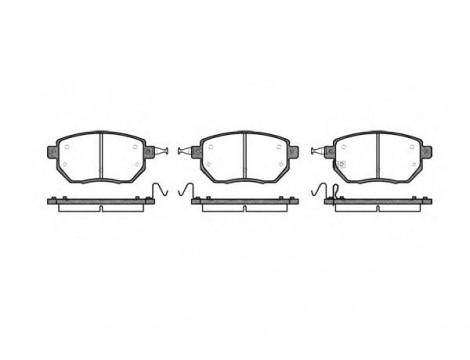 Тормозные колодки передние Infiniti FX35/45 S50 ROAD HOUSE