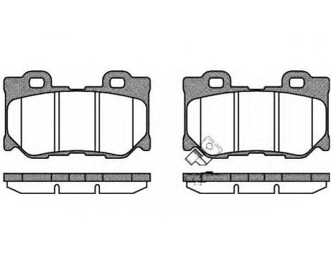 Тормозные колодки задние Road House (21365.01)