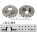 Тормозной диск передний Nipparts (J3301056)