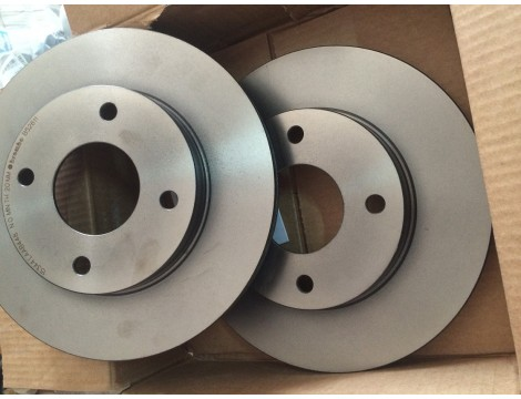 Передние тормозные диски Nissan Tiida Arab Арабка 40206-EE320